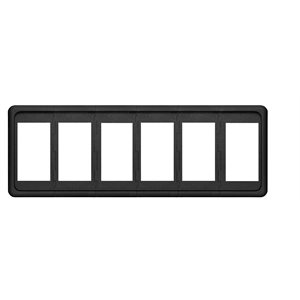 Contura Switch Mounting Panel - 6 Position
