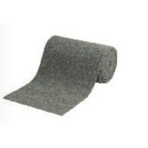 Marine carpet 6' wide navy blue - 100% synthetic olefin, woven polypropylene back / foot