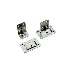 Table brackets stainless set of 4