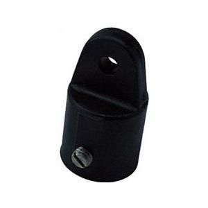 """Haut de chandelier plastique noir tube diamètre extérieur 7 / 8 """" taille de l'axe 1 / 4"""""""