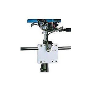 "Motor bracket railmount 6-11 / 16"" x 6-11 / 16"" black 8 HP (2-Cycle Only)"