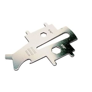 Deck plate key universal stainless