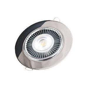 """Ceiling light LED 6"""" 304 Stainless"""