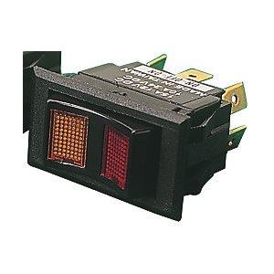 Interrupteur à bascule (dp) illuminé on / off / on 15 A 12V