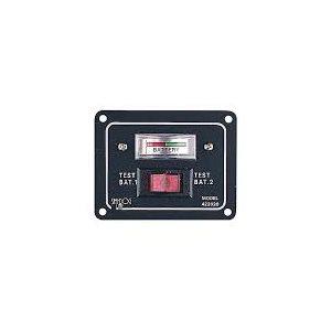 """Commutateur de test des batteries 12V DC 2-1 / 2 """"x 3-1 / 4"""""""