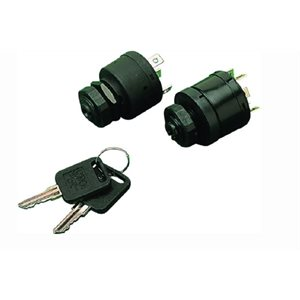 Magneto style ignition / starter switch 4-position