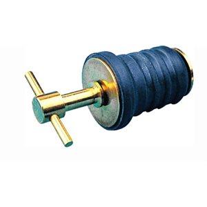 "Drain plug brass T handle 1"""