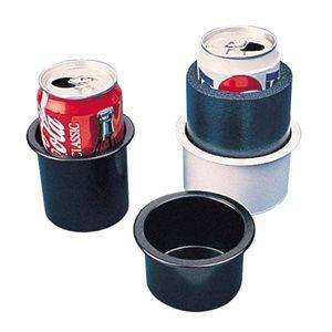 "Porte-boissons encastré noir 2-7 / 8 ""x 3"""