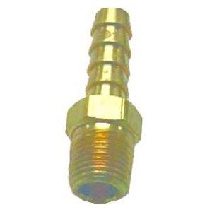 """Fuel hose barb fitting 1 / 4"""" npt 3 / 8"""" hose"""