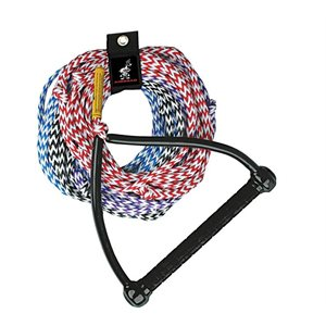 4-Section Water Ski Rope 75 ft