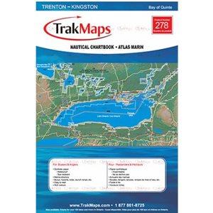 Bay of Quinte : Trenton - Kingston - Atlas Marin Trak maps