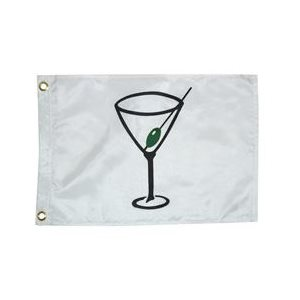 "Cocktail flag 12"" x 18"""