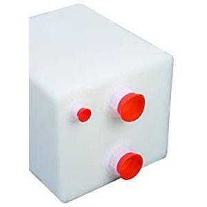 """Réservoir de rétention / d'eau 9 gallons 17 """"x 13-3 / 4"""" x 10-1 / 4 """" ports NPT standard"""