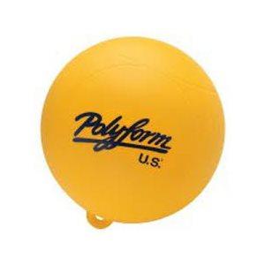 "Polyform water skiing buoy 9"" yellow"