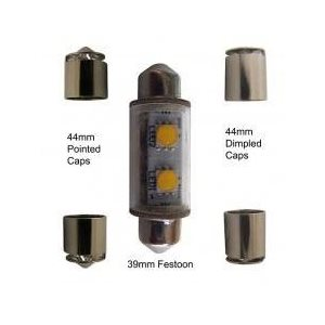 Ampoule DEL festoon blanc 39 / 44mm