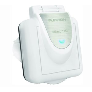 Furrion 30A 125V power inlet with Powersmart Technology