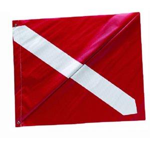 """Diver down flag vinyl 20"""" X 24"""""""