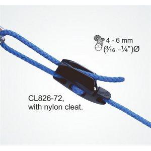 Aero cleat Taquet Aero avec CL272 nylon noir