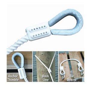 """EZ Splice 5 / 8 """"pour utilisation avec une ligne à trois brins ou tressée (2)"""