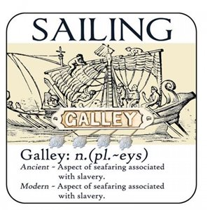 Coaster - Salty Saying - Galley