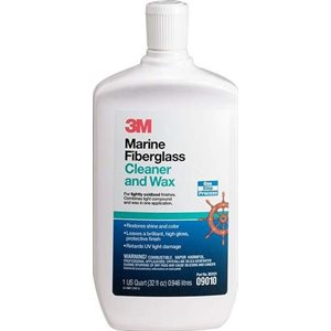 Fiberglass cleaner and wax 32oz.