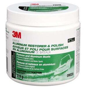Aluminum polish restorer