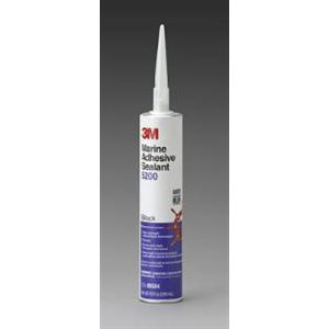 3M Marine Adhesive / Sealant 5200 10 oz. black