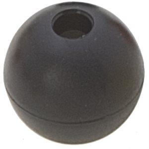 Boule d'emprise noir 33mm trou 8mm