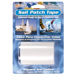 """Sail patch tape clear 3"""" X 15'"""