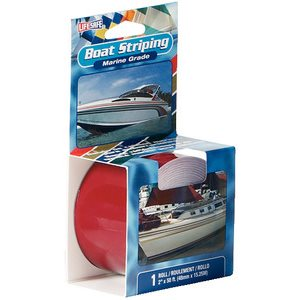 """Boat striping tape 1"""" x 50' cardinal red"""