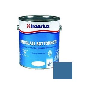 Fiberglass Bottomkote blue 1 gallon