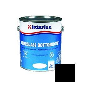 Fiberglass Bottomkote Noir 1 Gallon