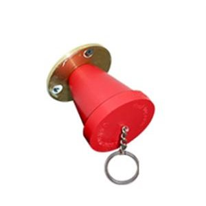 "Truplug Mini emergency stop plug and floating key chain 4"""