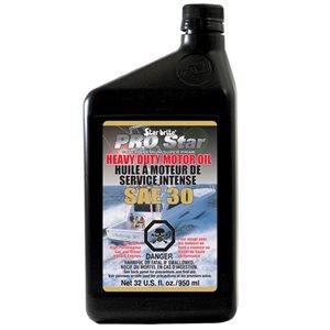 Star Brite Pro Star super premium heavy duty motor oil SAE 30 32 oz