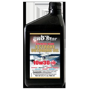 Star Brite 4 Stroke Synthetic Outboard Oil 10W30