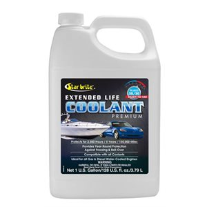 Extended life (6,000 hours) coolant 50 / 50 4L