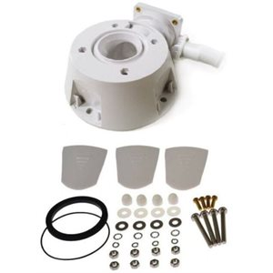 Jabsco electric toilet base 37010 and Quiet Flush series electric toilets