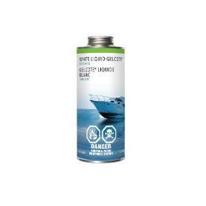 Gelcoat liquid kit white waxed 1L