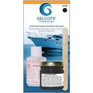 Gelcoat repair kit.black 1oz
