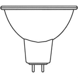 Bulb, halogen beam, MR 16 12V, 10W