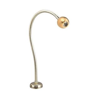 Chart light brass with switch LED 8-30V flexible