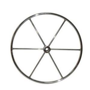 """Barre à roue inox. trou d'arbre 1 """" dia. 30"""" inox"""