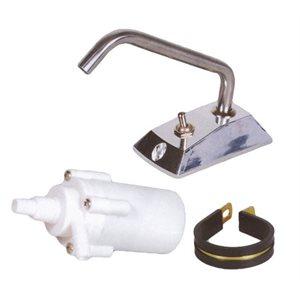 Pompe d'aqueduc avec robinet 12v 1.5a