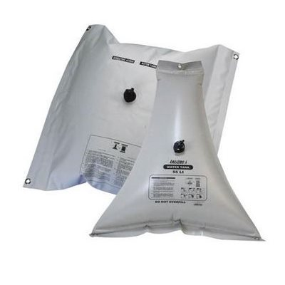 Watertank, flexibile 100L triangular 108cm X 21cm X 108cm