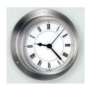 """Horloge 3 1 / 2 """" en acier inoxydable"""