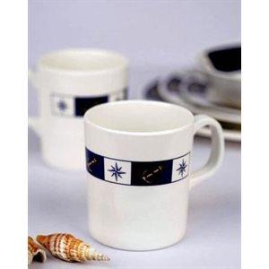 Mug anchor compass design each