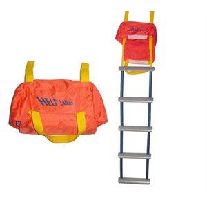 Emergency Ladder 5 step rail mounted