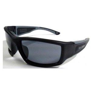 Lunettes de soleil Barz Floater polarisé AC cadre noir verres gris