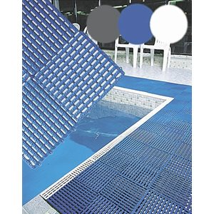 Rampe Aqua Mat Bordure pour Aquamat Blanc