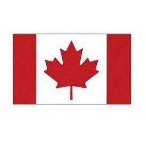 "Drapeau Canada 18"" x 9''"